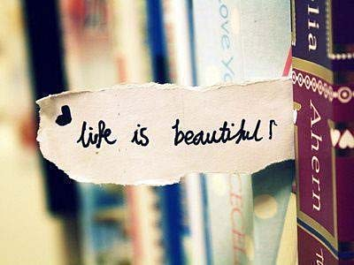 Life is beautiful books