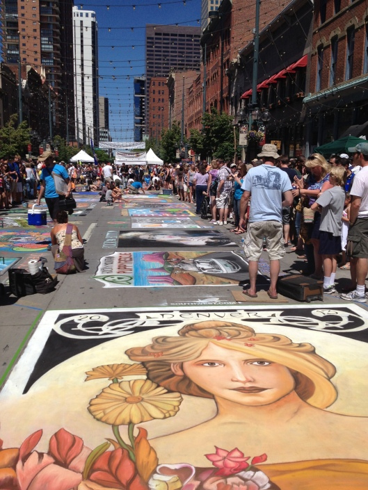 Denver Chalk Art