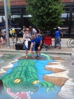 Interactive Chalk Art