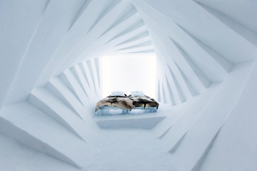 Photo from the 25th IceHotel in Jukkasjärvi, Sweden, taken by Paulina Holmgren