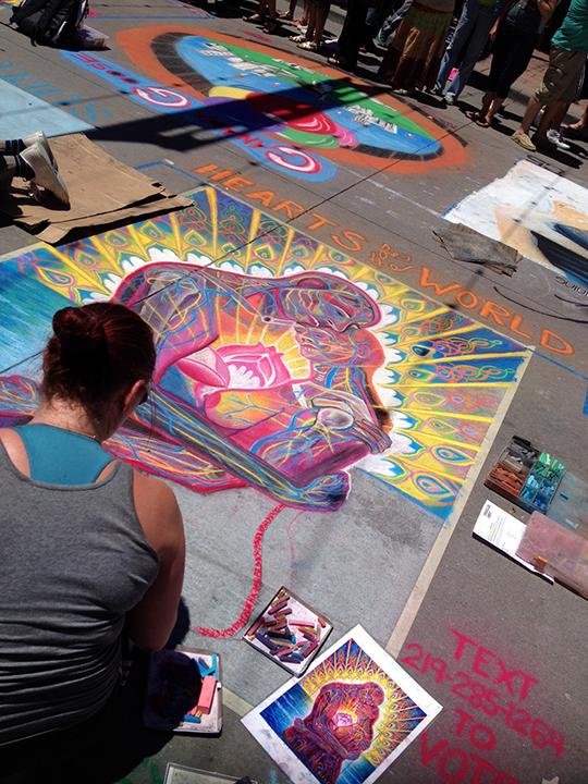 artist at play