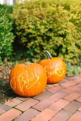 Calligraphy Pumpkins